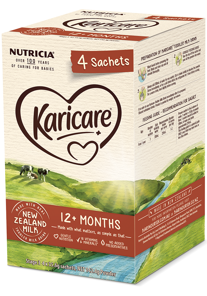 Sữa Karicare Plus 12+thánghộp giấy