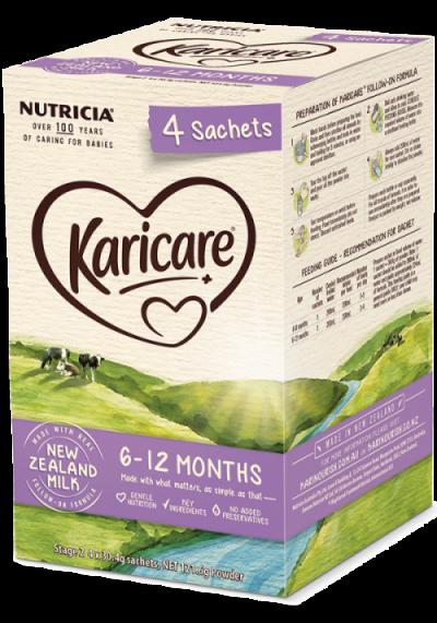 Sữa KaricarePlus 6 - 12 thánghộp giấy
