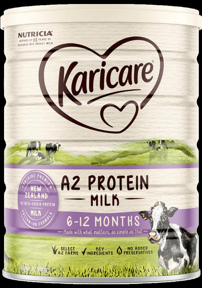sữa Karicare A2 số 2, sữa Karicare A2 6 - 12 tháng, sữa Karicare A2 số 2 úc