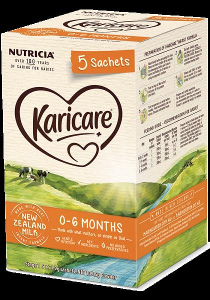 Sữa KaricarePlus 0 - 6 thánghộp giấy
