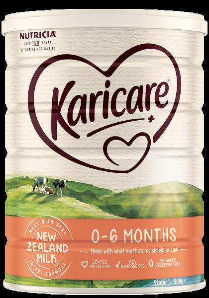 Sữa Karicare Plus 0 - 6 tháng